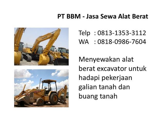 Prospek bisnis rental alat berat di Bandung dan Jakarta WA ...